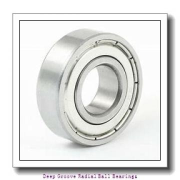 1 inch x 2.25 inch x 0.625 inch  R%26M lj1-2rs-r&m Deep Groove | Radial Ball Bearings